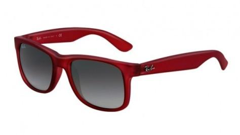 ray-ban-occhiali-da-sole-justin-rosso