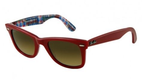 ray-ban-occhiali-da-sole-wayfarer-patchwork-rosso